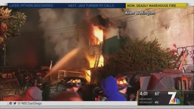 Death Toll at 36, Including SD Resident in Warehouse Fire