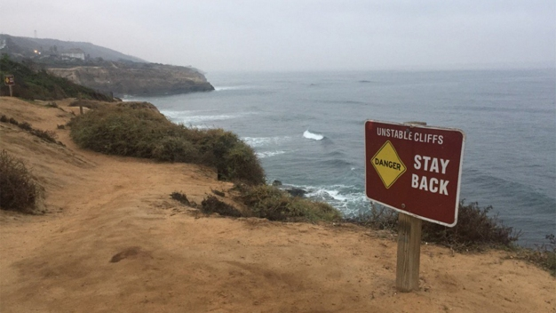 Man Dies on Beach at Base of Sunset Cliffs