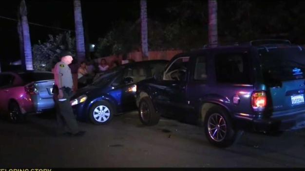 Suspected DUI Driver Crashes Into Multiple Cars