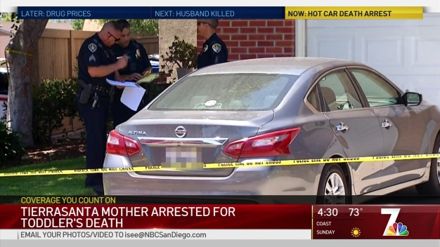 Tierrasanta Mother Arrested for Toddlers Death