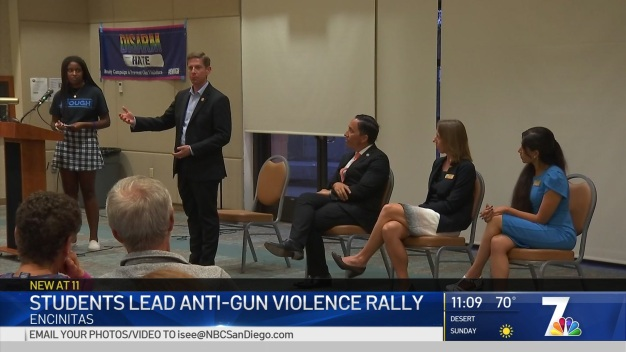 Student-Led Gun Law Forum Draws Attention of State, Federal Leaders