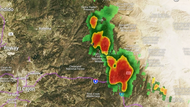Severe Thunderstorm Warning Includes Winds, Hail
