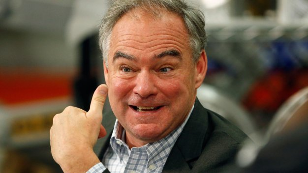 Democrat Tim Kaine Organizes Voters in Pa.