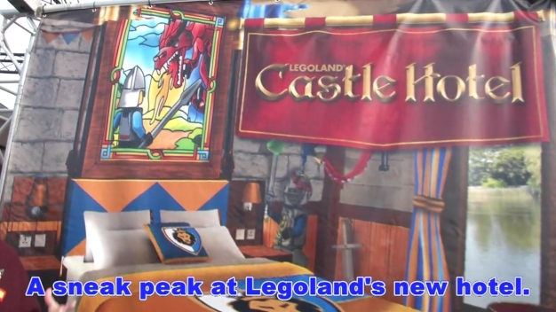 Legoland Will Open New Castle Hotel