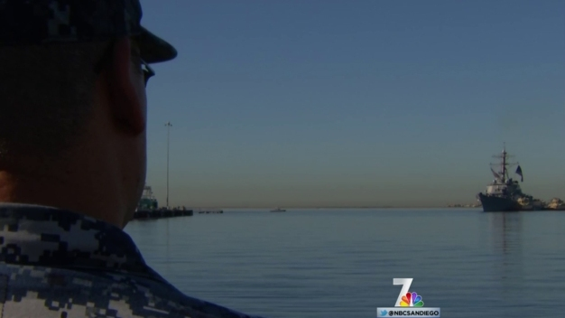 Family, Friends Welcome Home USS Higgins Crew