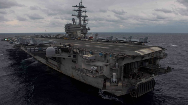 US Navy Aircraft Carrying 11 Crashes Into Ocean; 3 Missing