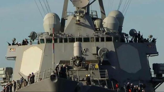 USS Higgins Underway for 7-Month Deployment