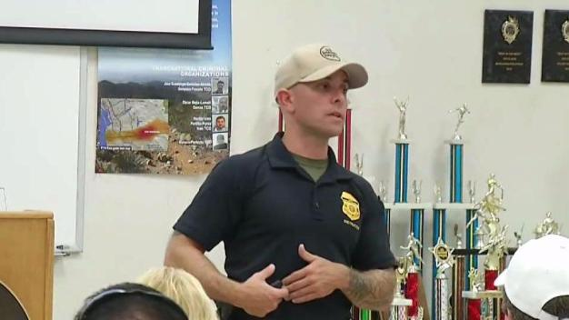 Border Patrol Holds Active Shooter Training Course