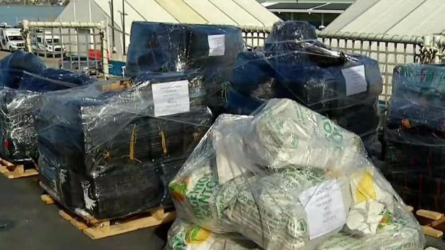 Coast Guard Mission Nets 36K Pounds of Cocaine
