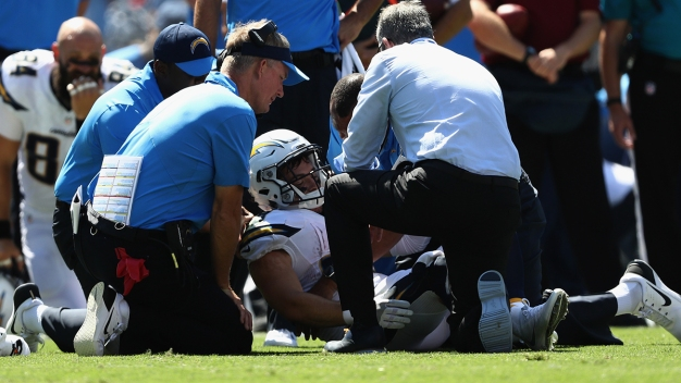 Chargers Lose Woodhead For Season