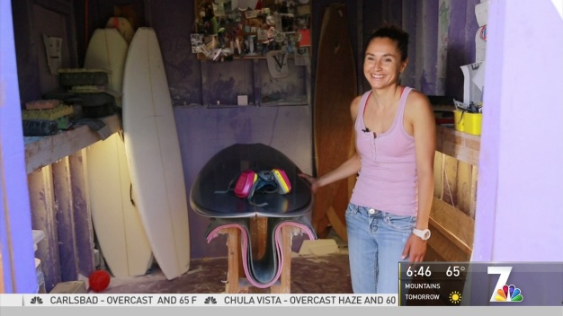 Your Corner: Woman Turns Hobby Into Surfboard Shaping Business