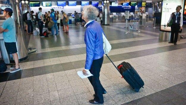 Memorial Day Air Travelers Get a Break From Long Lines