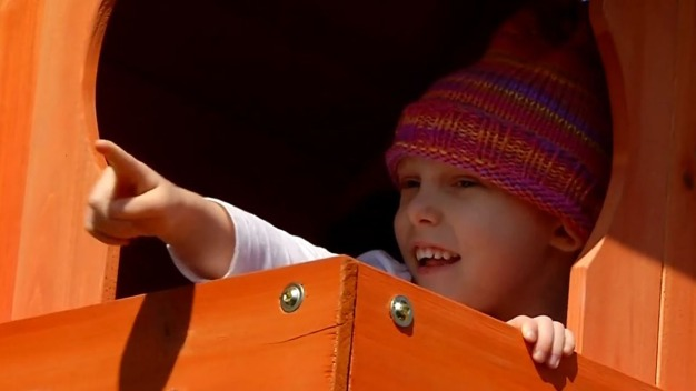 5-Year-Old With Cancer Gets New Play Set