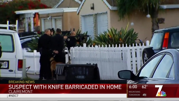 Hours-Long Clairemont Standoff Still Underway