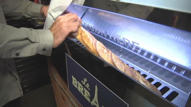 A Baguette Vending Machine? It's Open in SF