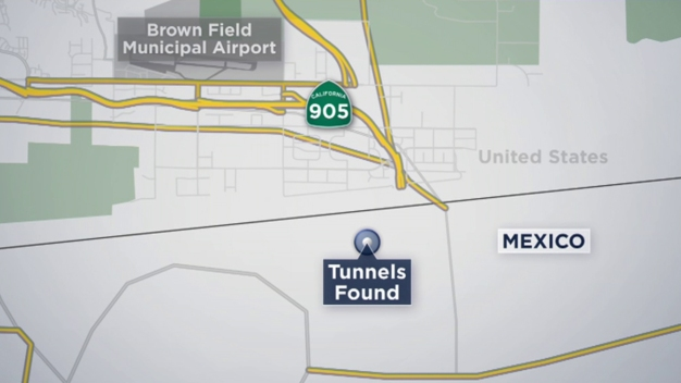 Tunnels Found Near U.S.-Mexico Border