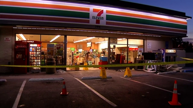 Driver Crashes into El Cajon 7-Eleven