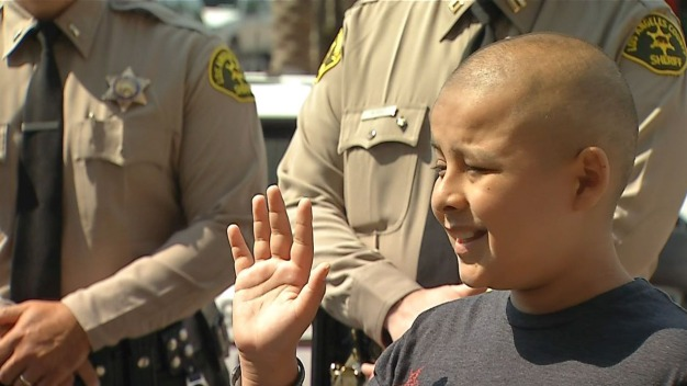 Boy Fighting Cancer Made K-9 Deputy for a Day