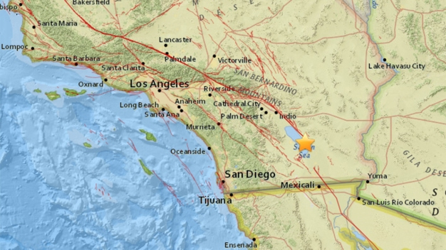 Multiple Quakes Rattle Imperial and San Diego Counties