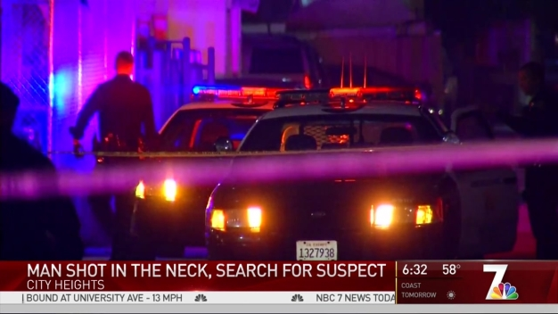 Man Shot in Neck in City Heights