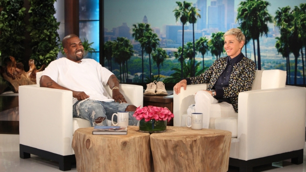 'I'm Sorry for the Realness': Kanye West Stuns Ellen