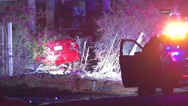 Driver Shot in Head Before Crashing into Escondido Yard: PD