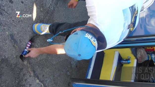 Chargers' Fan Buried in Stadium Parking Lot