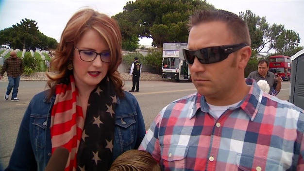 WATCH: Lakeside Family Attends Memorial Day Service