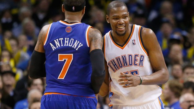 Durant, Anthony Lead US Olympic Basketball Team