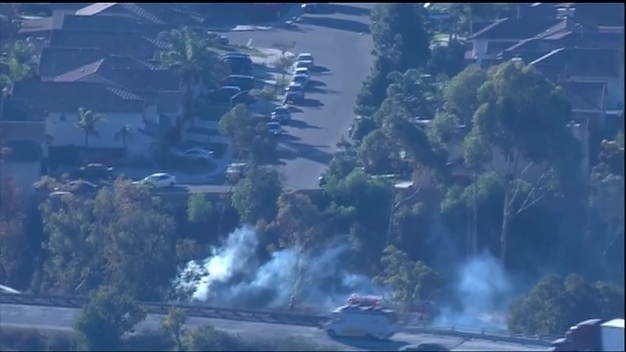 Spot Fires Reported on SR-905