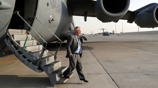 Long Day of Diplomacy: Tillerson Visits Afghanistan, Iraq