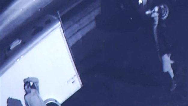 Theft of Work Trailer Caught on Cam