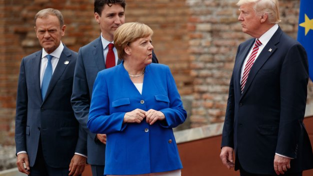 Trump Criticizes German Trade Surplus, Again