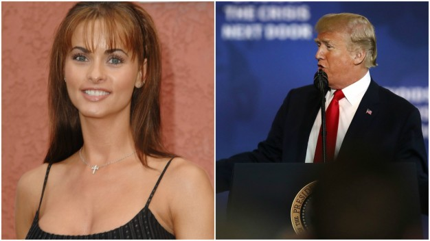 Ex Model Sues to Break Silence on Alleged Trump Affair