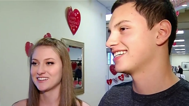 Couples Dash to Get Married Before Valentine's Day