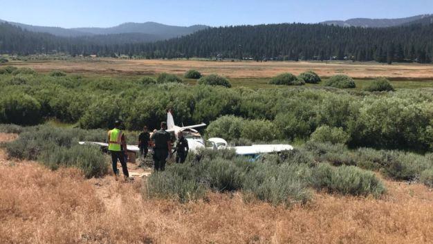 Small Plane Crash Near Truckee Tahoe Airport Leaves 2 Dead