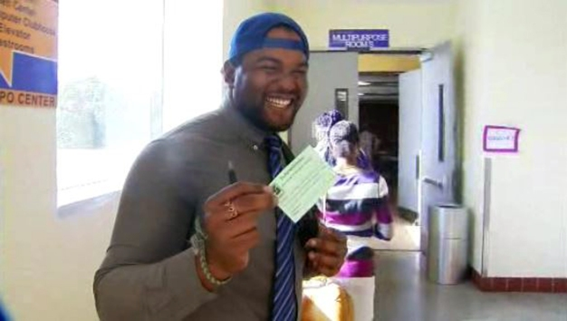 Green Ticket Is Good as Gold at LA Rams Job Fair