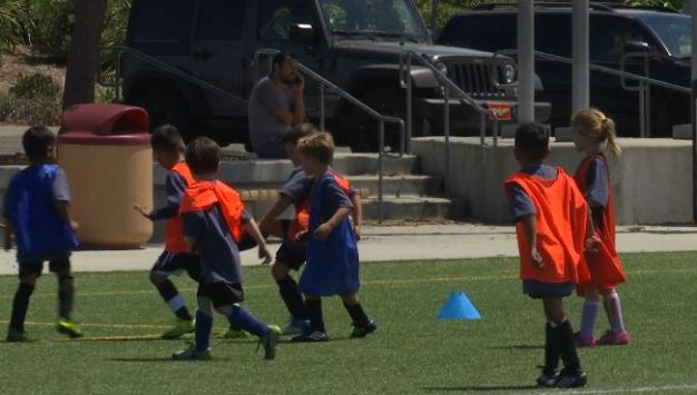 World Cup Inspires Kids in Carlsbad to Play Soccer