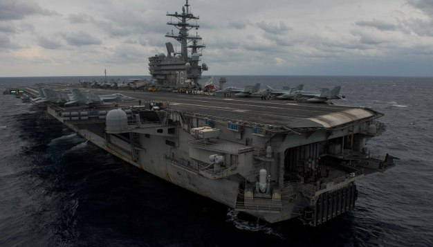 Sexual Assaults High on US Navy Aircraft Carriers: Report
