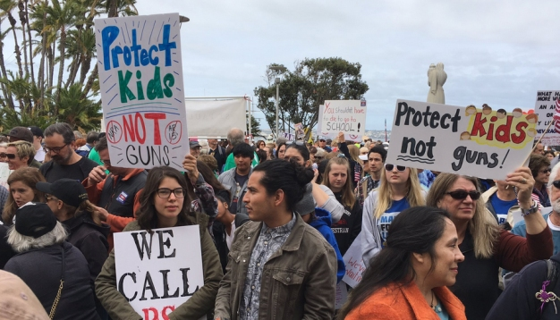 San Diego Partakes in 'March for Our Lives' Rally