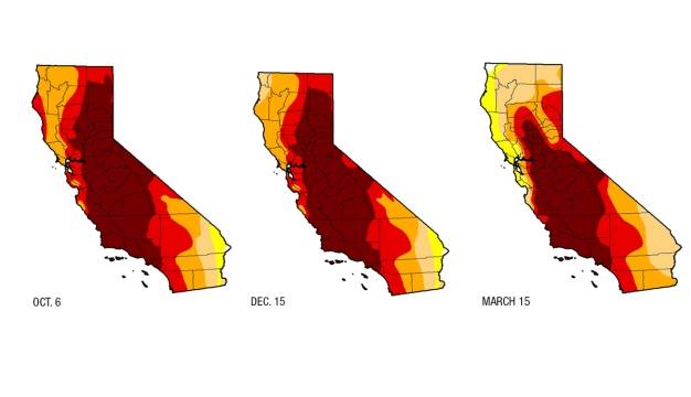 Drought Conditions Improve in Northern, Central California