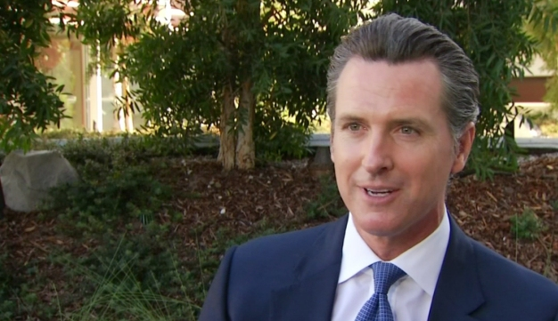 Newsom Re-elected Lieutenant Governor
