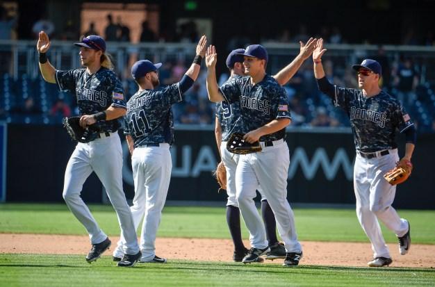 Rookies Lead Padres to Series Win