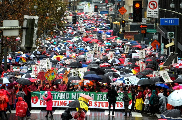 Here's What You Need to Know About the LA Teachers' Strike