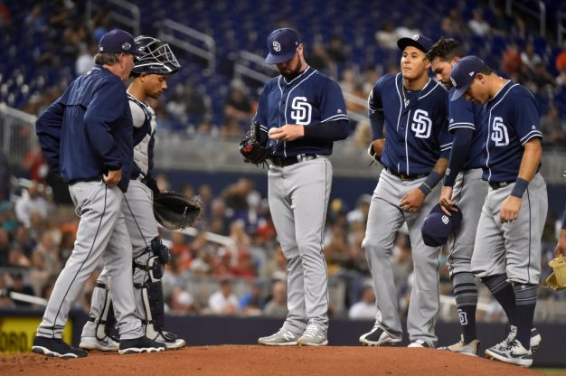 Padres Lose to Marlins, Fall to Last Place