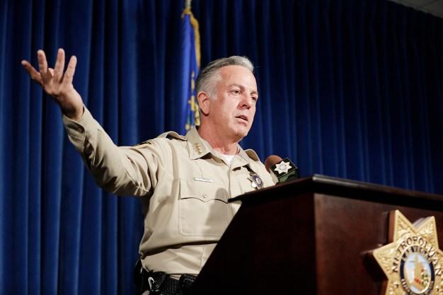Sheriff: No Motive, No 2nd Shooter in Las Vegas Massacre