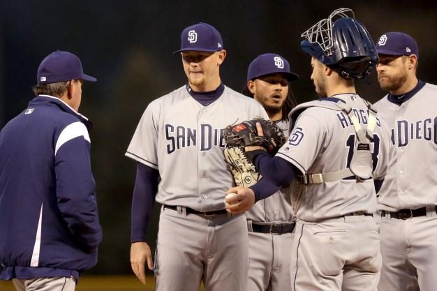 Padres Drop Second Game against Rockies