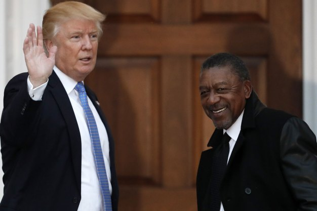 BET Founder Robert L Johnson Pitches Trump Economic Plans