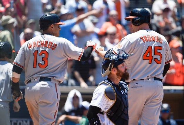 Padres Hammered at Home