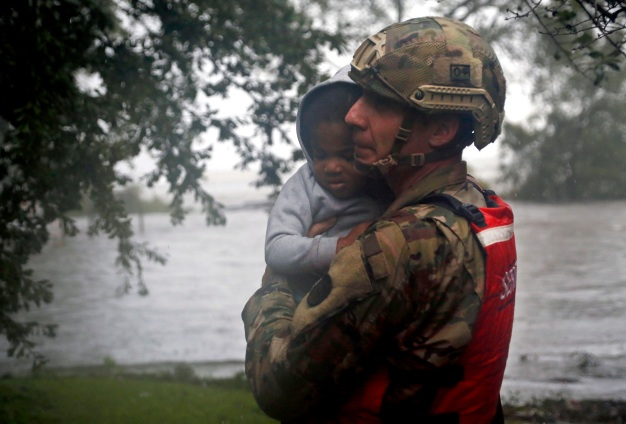Hundreds Rescued From Flooding in Historic NC City